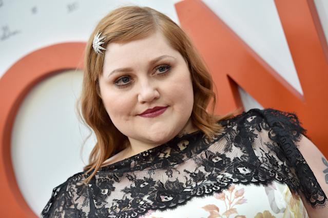 Beth Ditto is showing off her curves a decade after her first revealing <em>Love</em> shoot. (Photo: Axelle/Bauer-Griffin/FilmMagic)