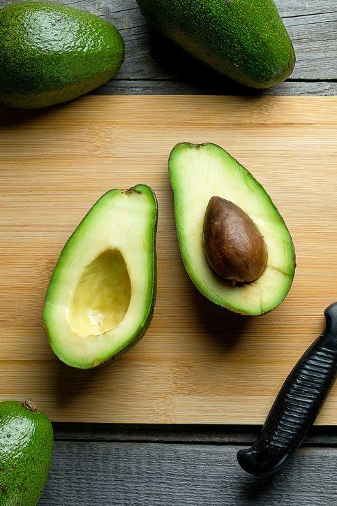 """<p>Smash up one-quarter of an avocado and add one-eighth teaspoon wasabi powder plus a pinch of salt and spread onto one sliced apple. The apple adds freshness and satisfying crunch; the avocado serves up filling, <a href=""""https://www.womenshealthmag.com/weight-loss/a19944374/fats-for-weight-loss/"""" rel=""""nofollow noopener"""" target=""""_blank"""" data-ylk=""""slk:healthy fats"""" class=""""link rapid-noclick-resp"""">healthy fats</a>; the wasabi adds a punch of heat and flavor; and the pinch of salt boosts the ingredients' natural flavors, says Haas. Yum!</p>"""