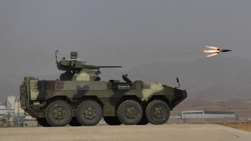 China gets rolling on military vehicle delivery to Thailand