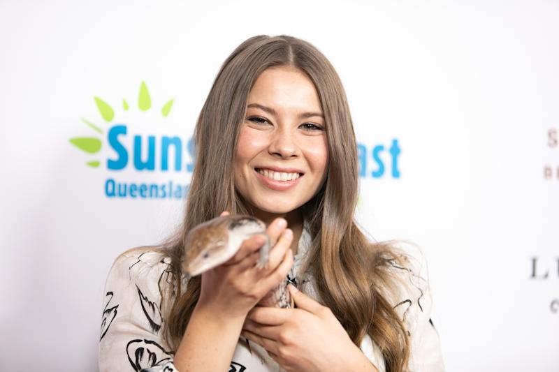 Bindi Irwin attends Steve Irwin Gala Dinner at SLS Hotel