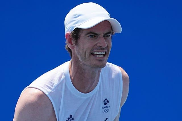 Andy Murray is in New York preparing for the US Open