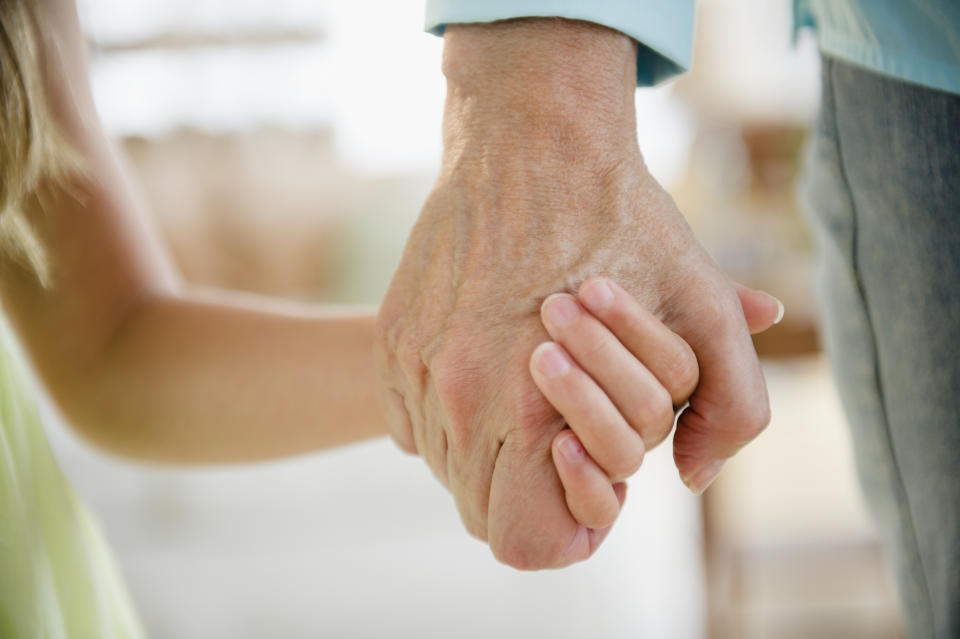 Many children rely on their grandparents for care or financial support. (Stock, Getty Images)