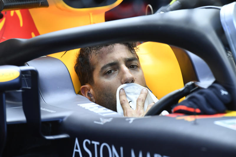 Daniel Ricciardo set to start at the back in Germany