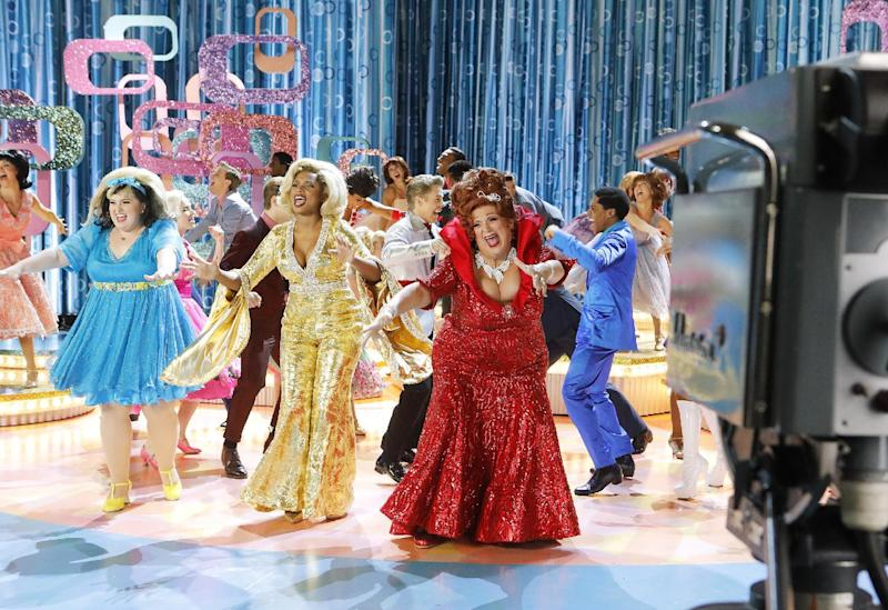 Viewership dips for NBC's live showing of 'Hairspray'