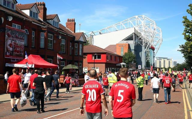 It has been over a year since fans attended a game at Old Trafford