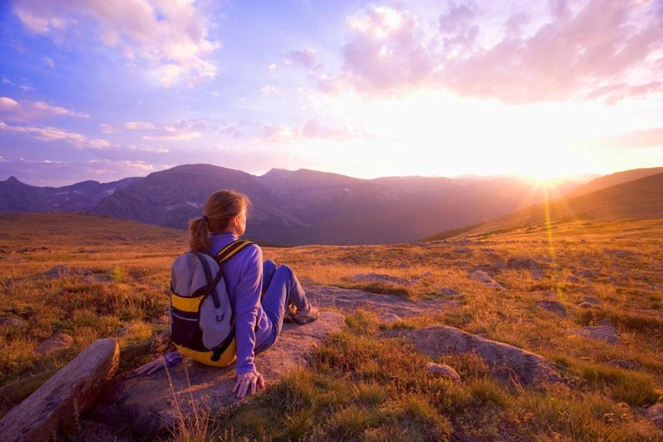 <p>Even if you don't travel very far, there's nothing like watching the sunset while surrounded by nature.</p>