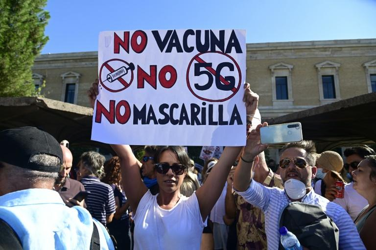 Vaccine reluctance linked to belief in virus hoaxes: study