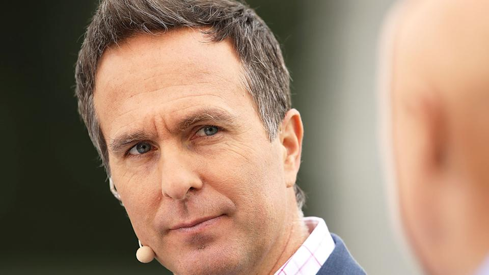 Pictured here, former England captain Michael Vaughan.