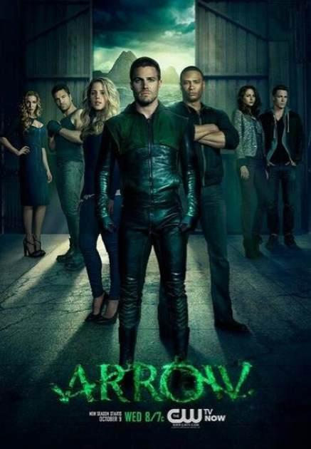 The poster for 'Arrow' Season 2 -- The CW