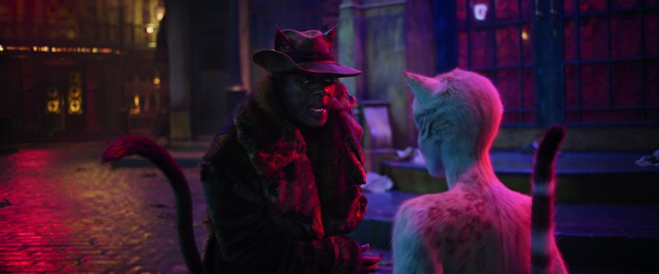 Idris Elba plays Macavity in the new film version of Cats (Photo: Universal Pictures)