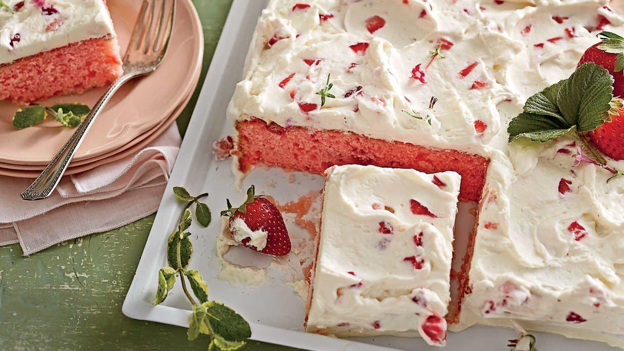 Sweet Strawberry Cake Recipes To Serve All Summer Long