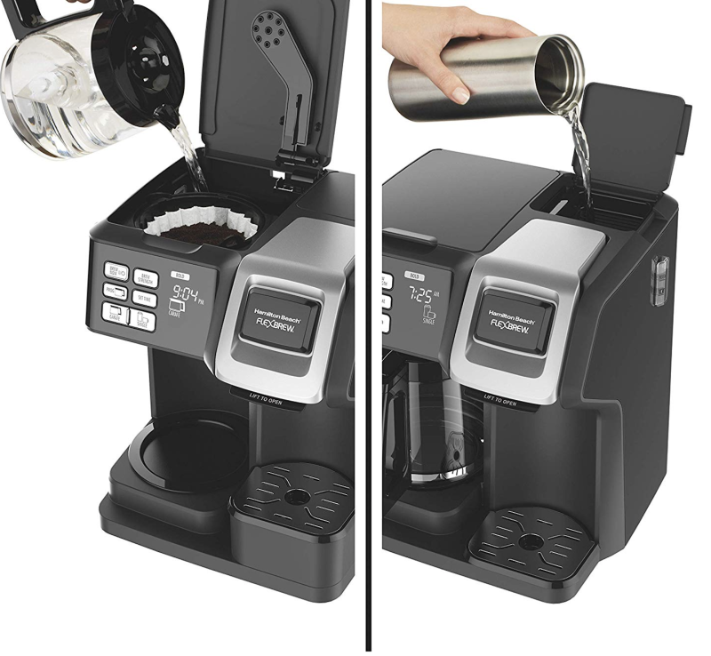 The Hamilton Beach Coffee Maker is praised for being easy to use.
