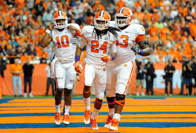 Clemson running back Zac Brooks out for season with foot injury