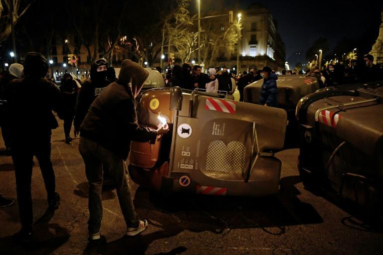 About 100 people have been arrested since the protests began