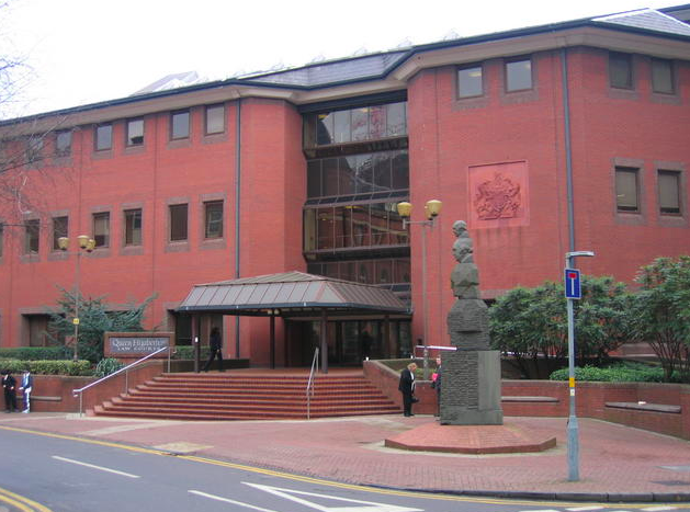 Five men have been on trial at Birmingham Crown Court. (Geograph)
