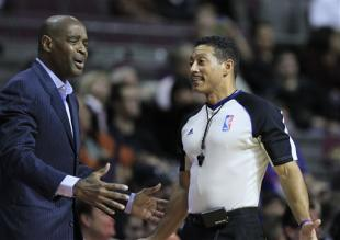 Kennedy (right) said he is proud to be an NBA referee and I am proud to be a gay man. (AP)