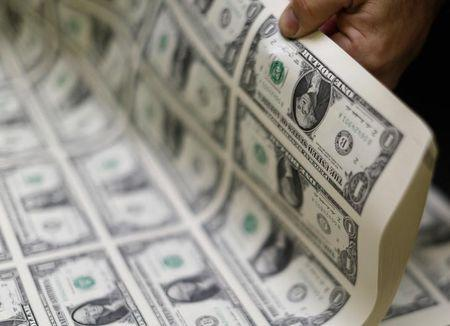 The U.S. dollar was slightly higher on Friday.