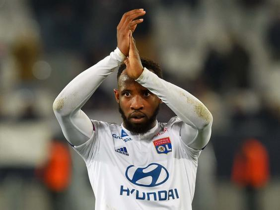 Moussa Dembele is set to remain at Lyon this month (Getty)