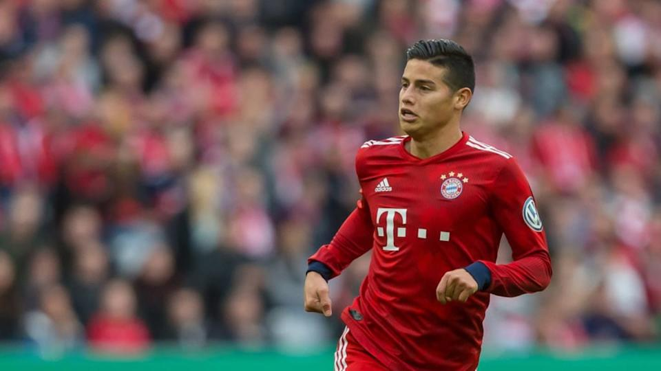 James Rodríguez ha marcado con tres equipos diferentes | TF-Images/Getty Images