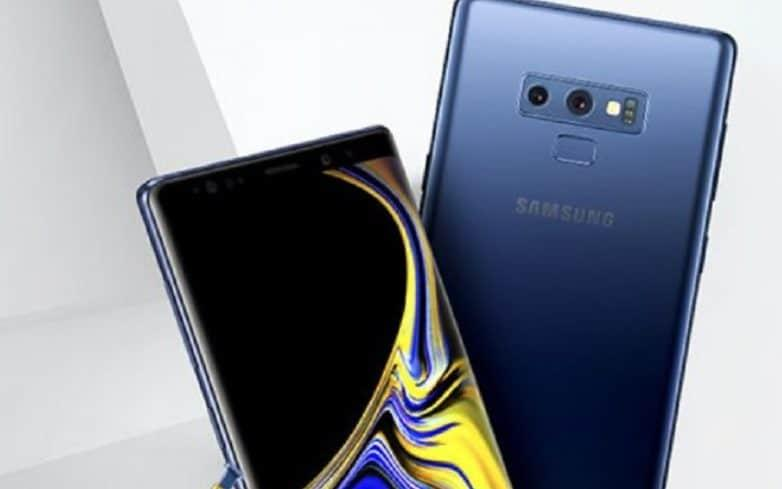 The rumoured Samsung Galaxy Note 9 - VentureBeat/Evan Blass