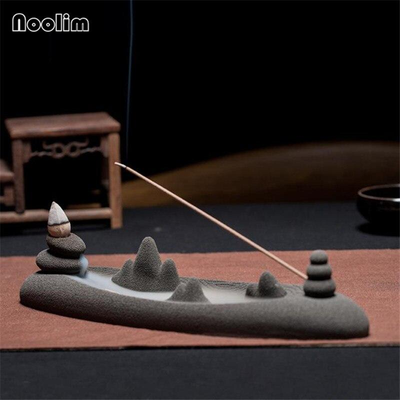 Zen Mountains And Rivers Backflow Incense Burner (Photo: Shopee)