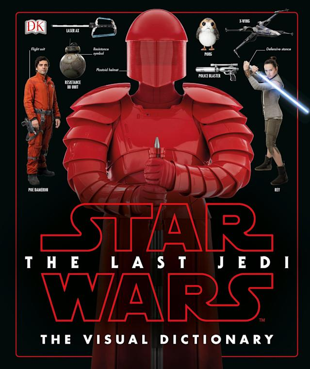 <p>Written by Lucasfilm's Pablo Hidalgo, DK's just-released tome catalogs all the planets, characters, vehicles, weapons, and creatures in the film. </p>