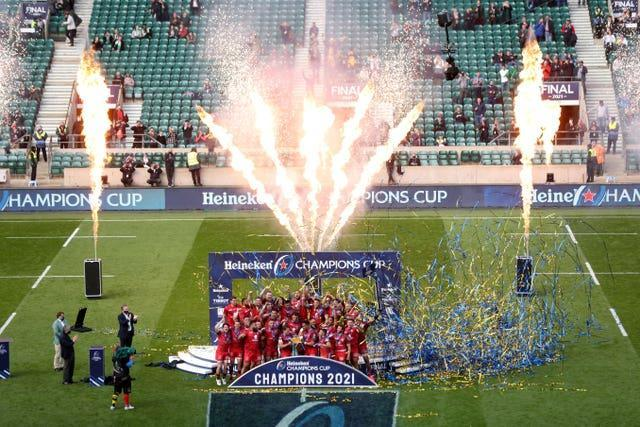 A day later more fans were present at Twickenham to watch Toulouse win a fifth Heineken Champions Cup title, this time with a 22-17 triumph over French rivals La Rochelle