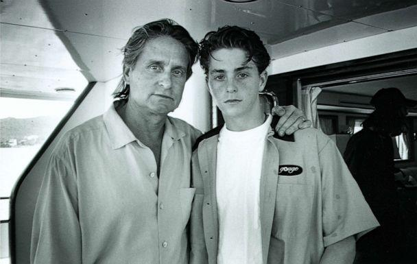 Cameron Douglas (right) is seen here with his father Michael Douglas (left) in this family photo. (Cameron Douglas/