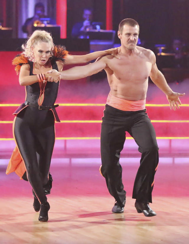 """Kym Johnson and Ingo Rademacher perform on """"Dancing With the Stars."""""""