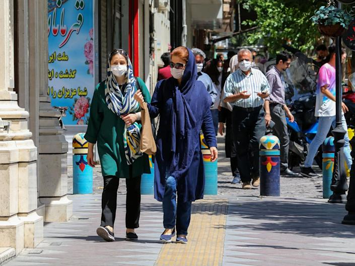 Iran's coronavirus outbreak has actually been among the worst in the region: AFP via Getty Images