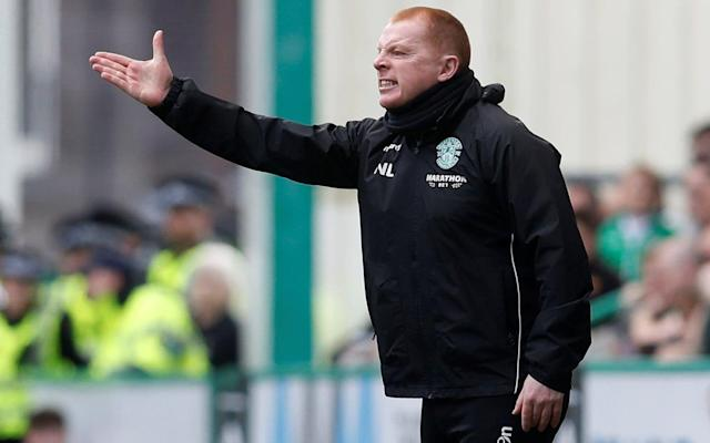 """Ask not for whom the bell tolls - it tolls for Steven Gerrard and Neil Lennon. Alarms have been ringing at Ibrox, hence the recruitment of Gerrard in hope that he can restore battered morale, although – according to caretaker manager, Jimmy Nicholl – the former Liverpool and England midfielder might have a more sizeable task than he first realised. Neil Lennon, too, should have been alert to the clamour of an alarm but, ahead of Rangers' visit to Easter Road on Sunday, the Hibernian manager literally slept through it. Lennon was so upset in the aftermath of Wednesday's defeat by Hearts at Tynecastle - which cost Hibs the chance of finishing second in the Scottish Premiership - that he declared that he would reconsider his position during the summer, in order to calibrate the ambition both of his players and directors. Garry Parker, Lennon's assistant, took the pre-match media briefing but played down speculation that the manager would soon cut himself adrift from the club. """"That was the heat of the moment,"""" Parker said. """"You know what he is like. He is a winner. After a game, if things don't go his way he just lets it all go. He doesn't like getting beat at anything - cards, anything - and he loses it."""" Of the fact that Lennon had not been seen at the training ground since Wednesday, Parker said: """"He is at home in Glasgow. He's overslept. His wife woke him up and then he has gone back to sleep - which is, in fact, a true story. He will be coming in at some point today but when I don't know."""" Meanwhile, Lennon's fellow Northern Irishman, Nicholl, spoke of the disillusionment that set in after he had agreed to a January request by Rangers' interim manager, Graeme Murty, to act as his assistant. """"At the start I was the happiest man in the word - because we went straight to Florida,"""" said Nicholl, who had two spells at Rangers as a full-back. Rangers' caretaker manager Jimmy Nicholl thinks Steven Gerrard hs to get more out of the players at Ibrox than the club has manag"""
