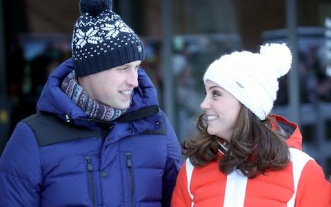 The Duke and Duchess of Cambridge pictured in February in Oslo, Norway - Credit: Chris Jackson/Getty Images