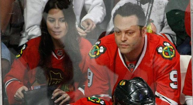 <p>Vince Vaughn picked a good year to jump off the Blackhawks' bandwagon.<br> (Charles Rex Arbogast/AP) </p>