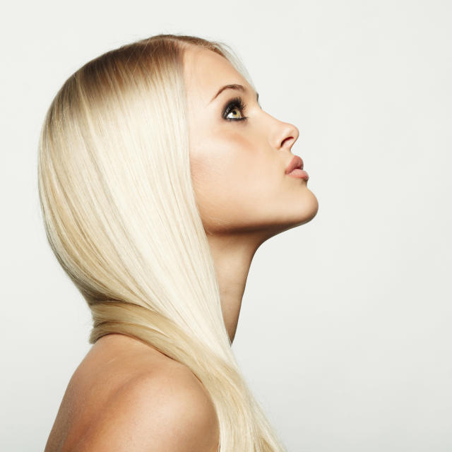 Is less frequent washing the secret to shiny hair? (Photo: Vladimir Serov/Getty Images)