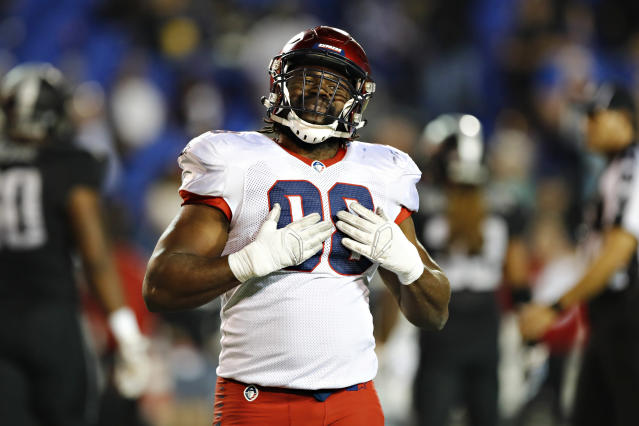 Corey Vereen will use his computer science degree instead of playing football in the XFL. (Photo by Wesley Hitt/AAF/Getty Images)