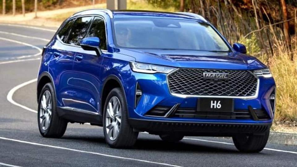 2021 Haval H6 with two engine choices makes global debut