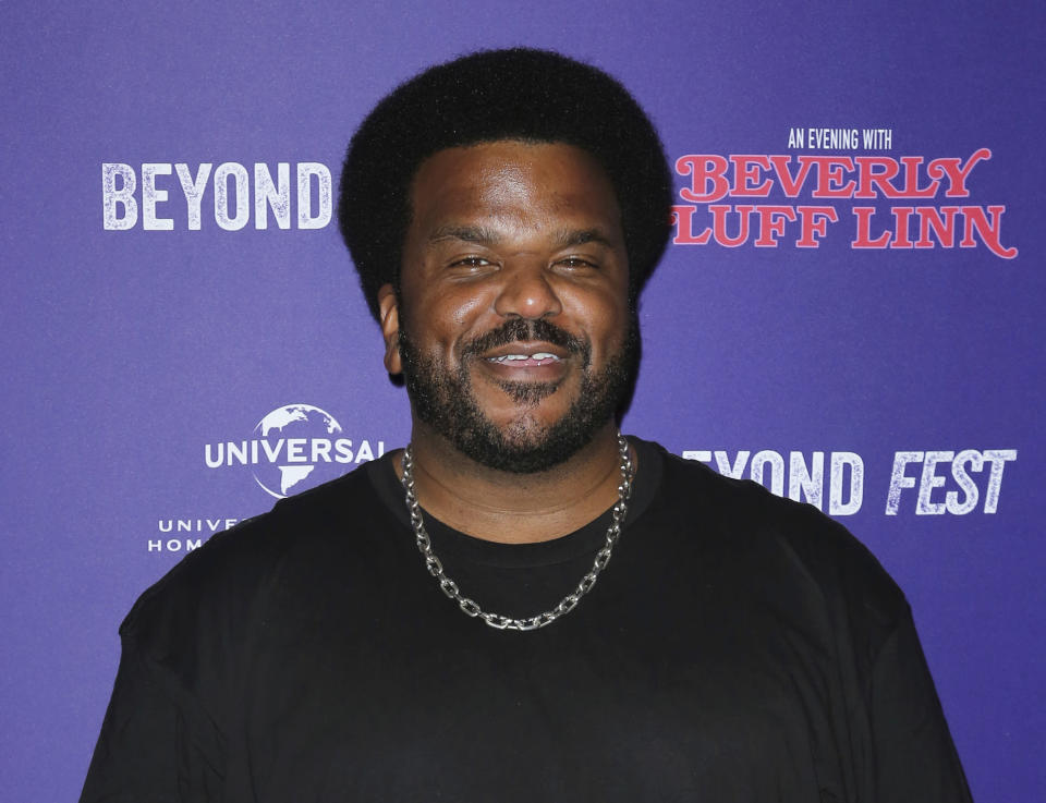 "FILE - Craig Robinson attends the premiere of ""An Evening with Beverly Luff Linn"" in Los Angeles on Oct. 8, 2018. Robinson will host the celebrity competition series, ""The Masked Dancer."" (Photo by Willy Sanjuan/Invision/AP, File)"