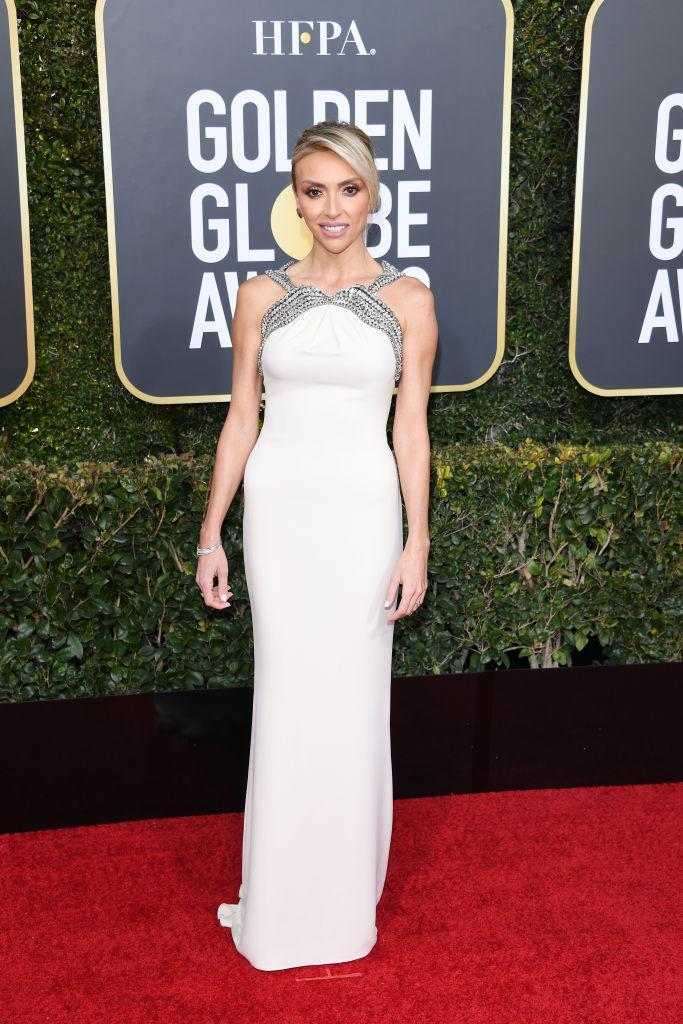 <p>Giuliana Rancic attends the 76th Annual Golden Globe Awards at the Beverly Hilton Hotel in Beverly Hills, Calif., on Jan. 6, 2019. (Photo: Getty Images) </p>