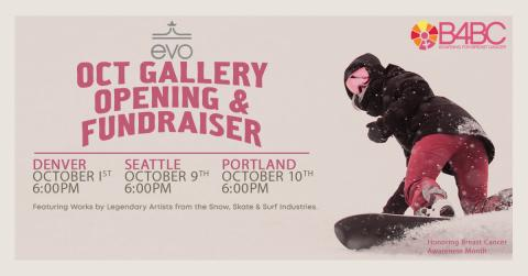 B4BC Hosts Global Auction and Gallery Fundraisers with evo and Globe to Benefit 'Chasing Sunshine Survivor Retreats' for Young Women