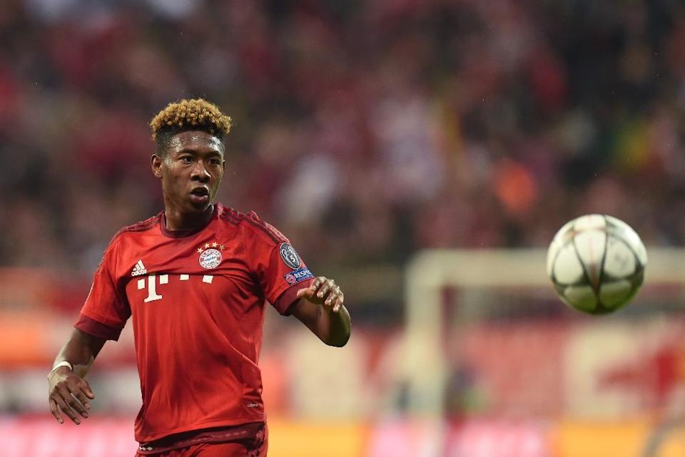 David Alaba started his career as a midfielder but was converted to left-back by Louis van Gaal during his time as Bayern boss in 2010 (AFP Photo/Christof Stache)