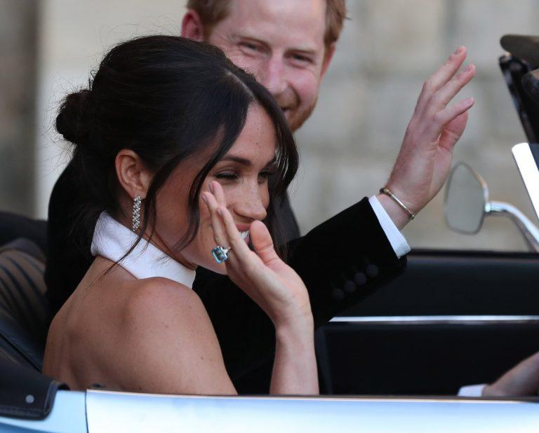 meghan markle something blue