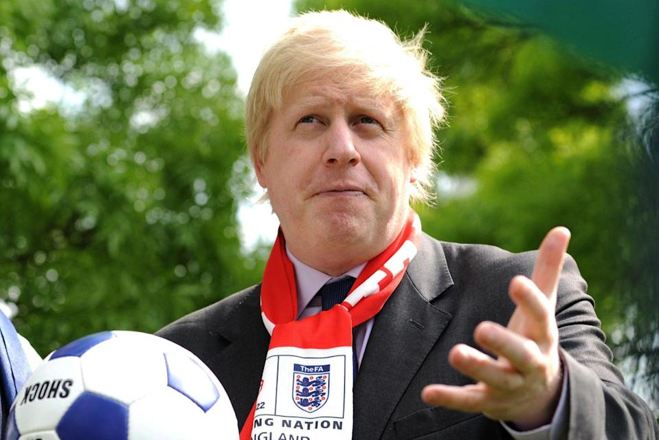 "Mr Johnson wants to ""bring football home in 2030""PA"