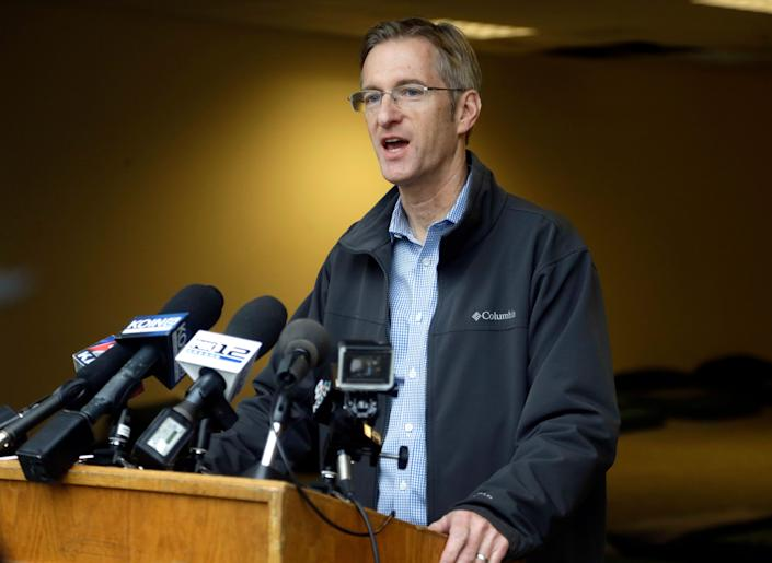 Portland, Ore., Mayor Ted Wheeler wants federal authorities to withdraw from the city.