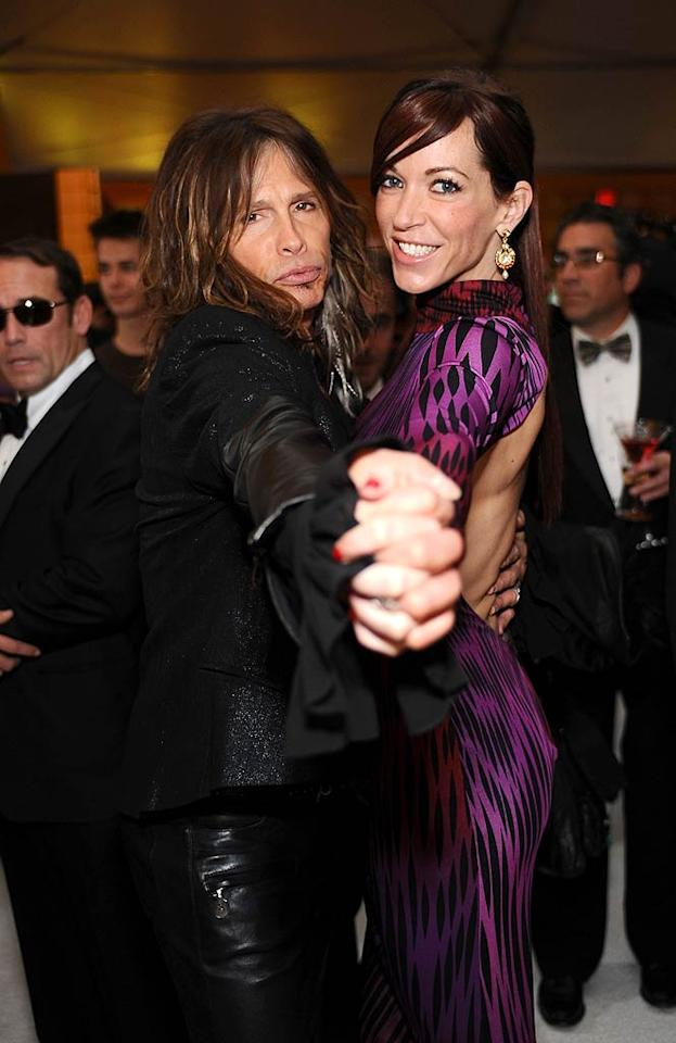 "<p>Will the third time be the charm for Steven Tyler? The 63-year-old Aerosmith rocker must have been thinking yes when he proposed to girlfriend Erin Brady over Christmas. Brady, 38, first met Tyler -- who is 25 years her senior – when she was working as the band's accountant and the two began dating in 2006. As for Tyler's womanizing ways, Brady tried an interesting approach. ""I just said, 'Hey listen, if you play, I'm gonna' play,'"" she said on Oprah Winfrey's new show ""Oprah's Next Chapter"". ""He didn't really like when he was on the other side of that scenario.""</p>"