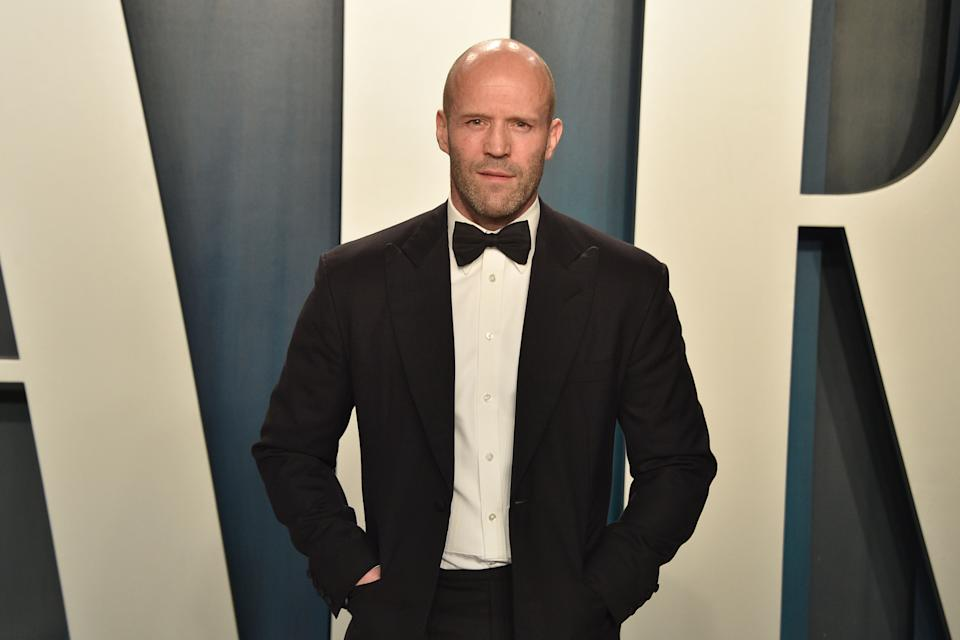 BEVERLY HILLS, CALIFORNIA - FEBRUARY 09: Jason Statham attends the 2020 Vanity Fair Oscar Party at Wallis Annenberg Center for the Performing Arts on February 09, 2020 in Beverly Hills, California. (Photo by David Crotty/Patrick McMullan via Getty Images)