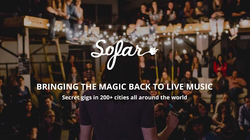What's Next for Sofar Sounds and Its 'Genius' Volunteer