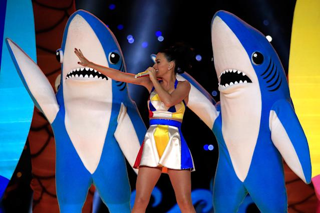 2015: Katy Perry. (Photo by Rob Carr/Getty Images)