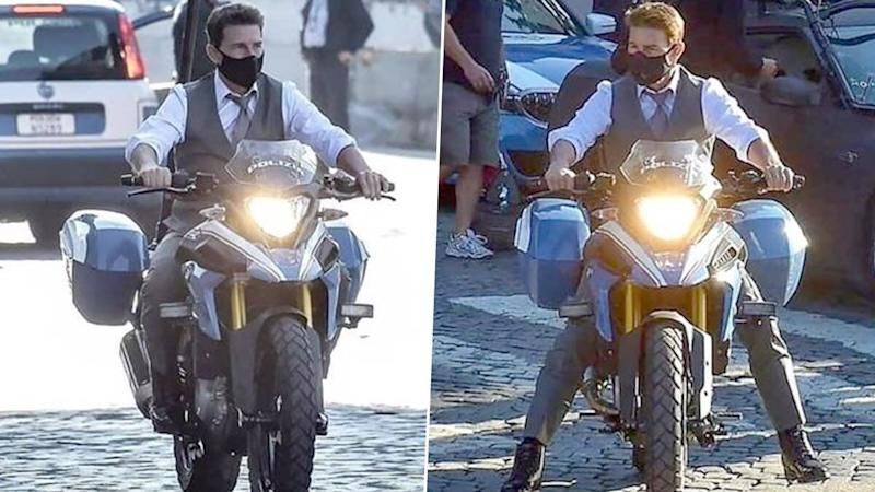 Mission Impossible 7: Tom Cruise Rides A Made-In-India BMW Bike On The Roads Of Italy