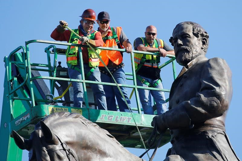 Detailed plans in place for careful removal of Lee statue