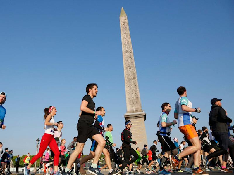 The 2020 Paris Marathon has been cancelled due to the coronavirus pandemic: AP